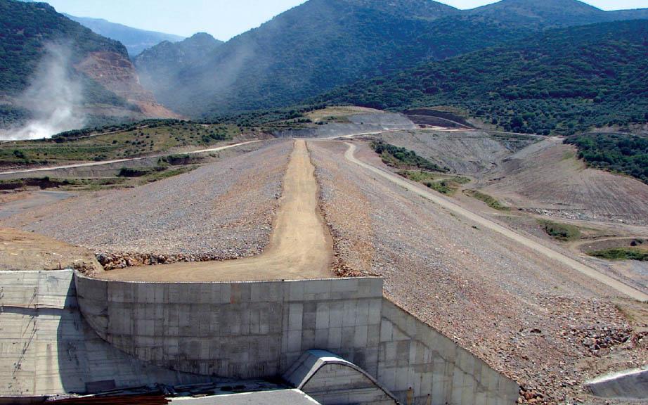 Aposelemis River Dam