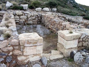 Amenospilia temple at the foot of Mt. Iouktas is controversial