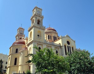 Ayios Minas is the metropolitan church - largest in the city