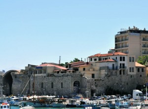 As time passed buildings pushed to the edge of fortifications