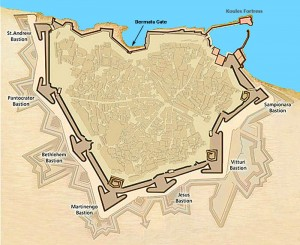 Venetian Candia is perhaps the best designed walled city in the world