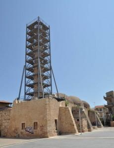 Neratze Mosque had the tallest minaret in town