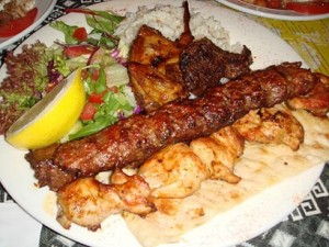 Many traditional Greek foods are identical to Turkish foods
