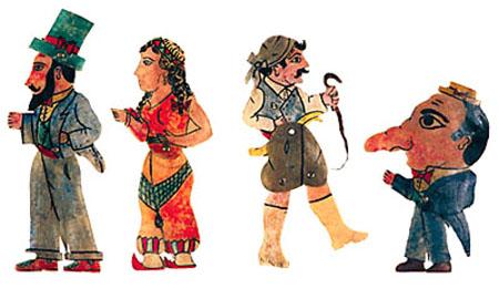 karaghiozi characters