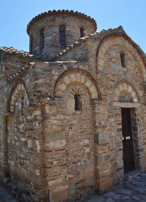 Byzantine church of Panagia (Holy Mother) near the El Greco museum outside Fodele village
