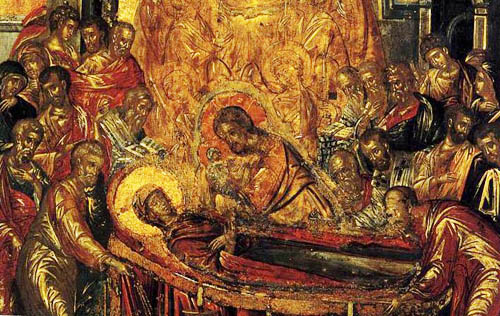 The Dormition is one of the most famous of the artist's early works