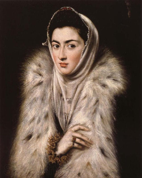 Lady in Fur is a well known painting from his time in Toledo