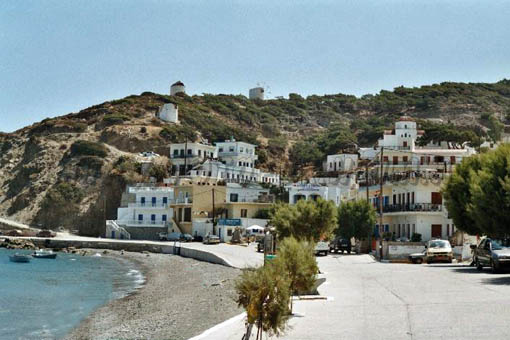Diafani is a small port town with some remnants of its agricultural past